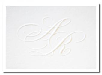 blinddruk letterpress