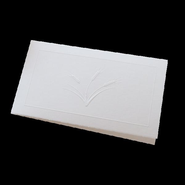 Ons assortiment Letterpress rouwkaartjes